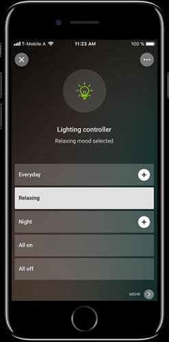 Weitere Highlights der neuen Lichtsteuerung